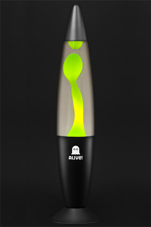 Лава лампа Лава лампа Гигант (черный) Прозрачный-Зелёный
